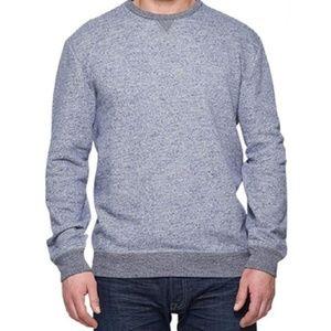 Weatherproof Vintage Blue Heathered Sweatshirt